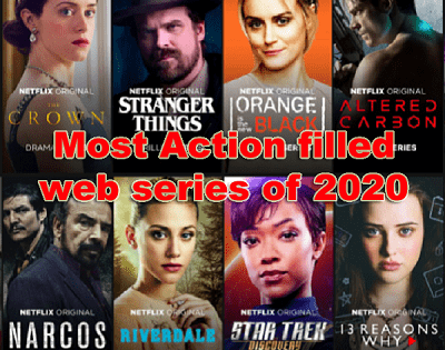 Most Action filled web series of 2020